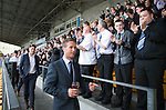 St Johnstone Player of the Year Awards 2014-15.....16.05.15<br /> Chris Millar leads the players out to applause from the supporters clubs.<br /> Picture by Graeme Hart.<br /> Copyright Perthshire Picture Agency<br /> Tel: 01738 623350  Mobile: 07990 594431
