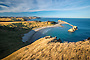 The View From Castle Rock to Castlepoint lIghthouse, Wairarapa