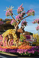 Tournament of Roses Parade Floats, Pasadena CA