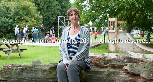 Zoe Readhead, A.S.Neill's daughter and current Head, at the reunion for Summerhill School's 90th birthday celebrations.