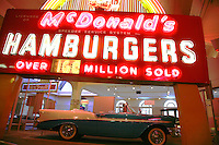 Insegna di fast food al Ford Museum di Detroit