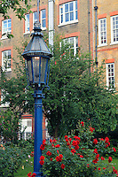 Blue Gas Lamp - London, UK
