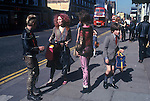 Kings Road Chelsea Saturday morning 1979.