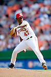 11 April 2006: Felix Rodriguez, pitcher for the Washington Nationals, on the mound during the Nationals' Home Opener against the New York Mets in Washington, DC. The Mets defeated the Nationals 7-1 to start the 2006 season at RFK Stadium...Mandatory Photo Credit: Ed Wolfstein Photo..