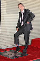 OCT 25 Hugh Laurie Star on The Hollywood Walk of Fame Ceremony