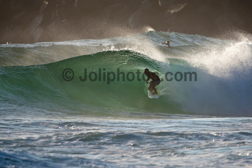 Joel Parkinson (AUS) surfing at D-Bah, Coolangatta , Queensland, Australia.  Photo: joliphotos.com