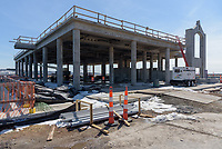 Boathouse at Canal Dock New Haven CT Construction Progress