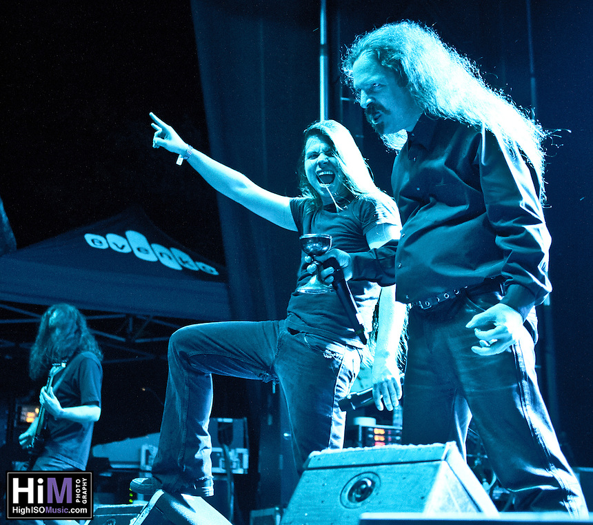Cryptopsy performing at Heavy MTL 2011 in Montreal, QC.