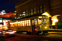 Trolley, Ybor City, Tampa, FL