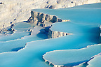Pictures &amp; Image  of Pamukkale Travetine Terrace, Turkey. Images of the white Calcium carbonate rock formations. Buy as stock photos or as photo art prints. 5