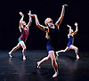 Lingua Franca <br /> by Robert Cohan <br /> at the Lilian Baylis Studio Theatre, Sadler's Wells, London, Great Britain <br /> press photocall <br /> 10th March 2015 <br /> <br /> Jonathan Goddard <br /> Phil Sanger<br /> <br /> Yolande Yorke-Edgell <br /> <br /> <br /> <br /> Photograph by Elliott Franks <br /> Image licensed to Elliott Franks Photography Services