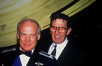 John Glenn &amp; Leonard Nimoy<br /> By Jonathan Green Celebrity Photography USA