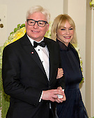 Actor Mike Myers and Kelly Myers arrive for the State Dinner in honor of Prime Minister Trudeau and Mrs. Sophie Gr&eacute;goire Trudeau of Canada at the White House in Washington, DC on Thursday, March 10, 2016.<br /> Credit: Ron Sachs / Pool via CNP