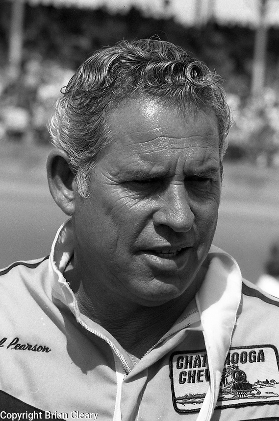 David Pearson Daytona 500 at Daytona International Speedway in Daytona Beach, FL on February  1984. (Photo by Brian Cleary/www.bcpix.com)