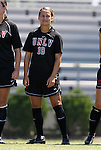 05 September 2009: UNLV's Brittney Flores. The Duke University Blue Devils played the University of Nevada Los Vegas Runnin' Rebels to a 0-0 tie after overtime at Koskinen Stadium in Durham, North Carolina in an NCAA Division I Women's college soccer game.