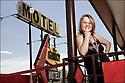 Oklahoma-Route 66<br /> Portrait<br /> Clinton