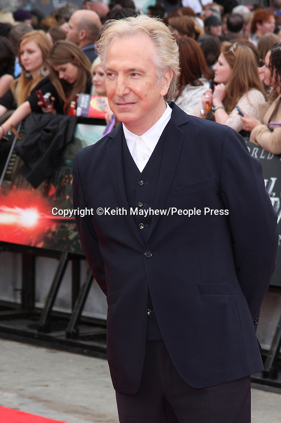 London - World Premiere of 'Harry Potter and the Deathly Hallows - Part 2' at Trafalgar Square, London - July 7th 2011..Photo by Keith Mayhew.