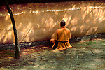 00277_ 014, China, 2004, CHINA-10065, 00278_04.adj, 00278_04. A man meditates.