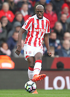 Stoke City's Bruno Martins Indi<br /> <br /> Photographer Mick Walker/CameraSport<br /> <br /> The Premier League - Stoke City v Chelsea - Saturday 18th March 2017 - bet365 Stadium - Stoke<br /> <br /> World Copyright &copy; 2017 CameraSport. All rights reserved. 43 Linden Ave. Countesthorpe. Leicester. England. LE8 5PG - Tel: +44 (0) 116 277 4147 - admin@camerasport.com - www.camerasport.com