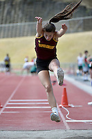 Action from the Athletics - Western Zone at Newtown Park, Wellington, New Zealand on Tuesday 10 March 2015. <br /> Photo by Masanori Udagawa. <br /> www.photowellington.photoshelter.com.