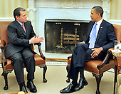 United States President Barack Obama meets King Abdullah II of Jordan in the Oval Office of the White House in Washington, D.C. on Wednesday, September 1, 2010.  This is one of several meetings between the President and Middle East Leaders in advance of the opening of the first direct talks in two years between Israel and the Palestinian Authority scheduled to begin at the State Department in Washington, D.C. tomorrow..Credit: Ron Sachs / Pool via CNP