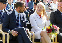 Crown Prince Haakon and Crown Princess Mette-Marit of Norway visit  Froland  during a  three day visit, to the county of Aust-Agder in Southern Norway