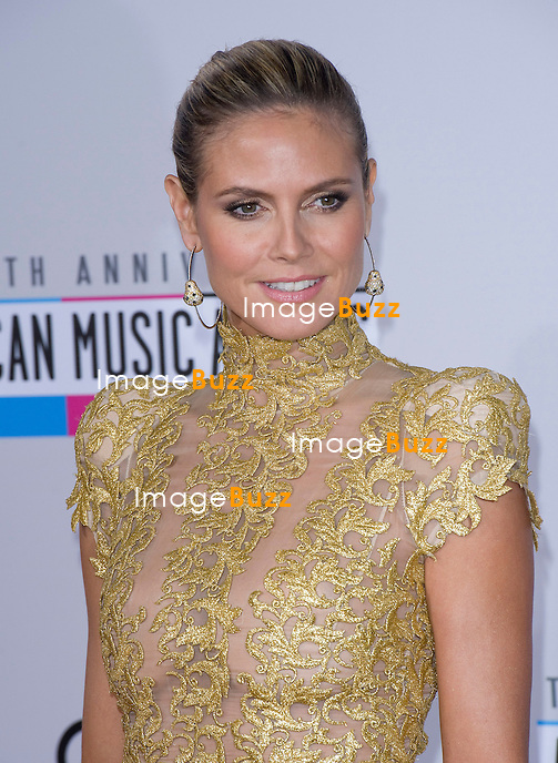 HEIDI KLUM.attends the 40th American Music Awards, Nokia Theatre, Los Angeles_18/11/2012
