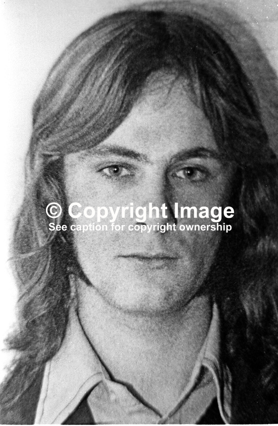 Paul Hill, native, Belfast, N Ireland, one of the Guildford Four, - Hill-Paul-197509220658
