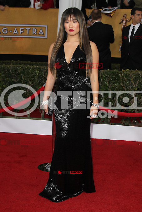 LOS ANGELES, CA - JANUARY 27: Jenna Ushkowitz at The 19th Annual Screen Actors Guild Awards at the Los Angeles Shrine Exposition Center in Los Angeles, California. January 27, 2013. Credit: mpi27/MediaPunch Inc. /NortePhoto /NortePhoto