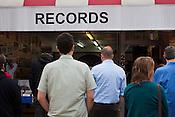 Lee Ronaldo plays Chaz's Bull City Records, Monday, May 14, 2012.