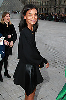 Liya Kebede - ARRIVEES AU DEFILE 'VUITTON' AU LOUVRE - FASHION WEEK DE PARIS