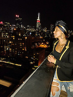 NEW YORK, NY - SEPTEMBER 13, 2016 Alicia Keys attends her husband, Swizz Beatz's rooftop birthday party in New York City. Photo Credit: Walik Goshorn / Mediapunch