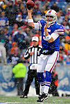 9 December 2007: Buffalo Bills rookie quarterback Trent Edwards in action against the Miami Dolphins at Ralph Wilson Stadium in Orchard Park, NY. The Bills defeated the Dolphins 38-17. ..Mandatory Photo Credit: Ed Wolfstein Photo