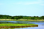 Beautiful landscapes of Wellfleet Wetlands in Cape Cod Massachusetts.