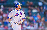 20 April 2013: New York Mets outfielder Lucas Duda in action against the Washington Nationals at Citi Field in Flushing, NY. The Mets fell to the visiting Nationals 7-6, tying their 3-game weekend series at one a piece. Mandatory Credit: Ed Wolfstein Photo *** RAW (NEF) Image File Available ***
