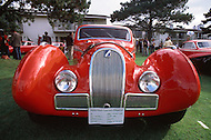 August 26th, 1984. 1937 Talbot-Lago T150-SS Figoni and Falaschi Coupe.
