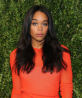 NEW YORK, NY - NOVEMBER 07:  Laura Harrier attends 13th Annual CFDA/Vogue Fashion Fund Awards at Spring Studios on November 7, 2016 in New York City. Photo by John Palmer/ MediaPunch