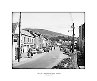 Fair Day at Baltinglass.17/06/1957..Baltinglass is a town in south-west County Wicklow, Ireland. It is situated on the River Slaney near the border with County Carlow and County Kildare, on the N81 road. Its Irish name means &quot;the way of Conglas&quot;, Conglas being a member of the mythological warrior collective, the Fianna. A previous Irish-language name for the village, bringing to mind its monastic past, was Mainistir an Bhealaigh.