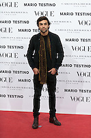 Diego Osorio at Vogue December Issue Mario Testino Party