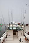 Onboard a fishing boat, Leland Historic District (Fishtown), Michigan, USA