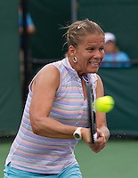 Melinda CZINK (HUN) against Maria KIRILENKO (RUS) in the second round of the women's singles. Kirilenko beat Czink 4-6 6-2 7-6..International Tennis - 2010 ATP World Tour - Sony Ericsson Open - Crandon Park Tennis Center - Key Biscayne - Miami - Florida - USA - Fri 26 Mar 2010..© Frey - Amn Images, Level 1, Barry House, 20-22 Worple Road, London, SW19 4DH, UK .Tel - +44 20 8947 0100.Fax -+44 20 8947 0117