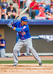 3 March 2016: New York Mets outfielder Juan Lagares in action during a Spring Training pre-season game against the Washington Nationals at Space Coast Stadium in Viera, Florida. The Mets fell to the Nationals 9-4 in Grapefruit League play. Mandatory Credit: Ed Wolfstein Photo *** RAW (NEF) Image File Available ***