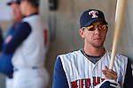 April 16, 2009:   #33 Clete Thomas of the Toledo Mudhens in action during the MiLB game between Columbus Clippers and Detroit Toledo Mudhens at Fifth Third Field in Toledo, Ohio. Columbus defeated the Mudhens 2-1. (Credit Image: © Rick Osentoski/Cal Sport Media)