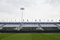 A general view of the east stand at the Recreation Ground. European Rugby Champions Cup match, between Bath Rugby and RC Toulon on January 23, 2016 at the Recreation Ground in Bath, England. Photo by: Patrick Khachfe / Onside Images