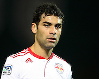 Rafa Marquez (4) of the New York Red Bulls during an MLS match against D.C. United at RFK Stadium, in Washington D.C. on April 21 2011. Red Bulls won 4-0.