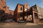 WATERBURY,  CT-122316JS07-The old Waterbury Clock Company in Waterbury. <br />  Jim Shannon Republican American