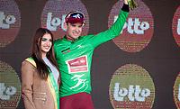 Green Jersey winner Alexander Kristoff (NOR/Katusha Alpecin)<br /> <br /> 3 Days of De Panne 2017