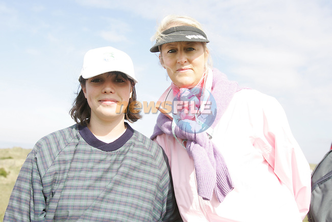 Cathryn Collins and Emer Morgan at the 3 Irish Open Golf in Baltray...Photo NEWSFILE/Jenny Matthews.(Photo credit should read Jenny Matthews/NEWSFILE)....This Picture has been sent you under the condtions enclosed by:.Newsfile Ltd..The Studio,.Millmount Abbey,.Drogheda,.Co Meath..Ireland..Tel: +353(0)41-9871240.Fax: +353(0)41-9871260.GSM: +353(0)86-2500958.email: pictures@newsfile.ie.www.newsfile.ie.FTP: 193.120.102.198.