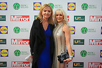 19/05/2015 <br /> Paula lenihan RSVP &amp; Aisling holly <br /> during the Irish mirror pride of Ireland awards at the mansion house, Dublin.<br /> Photo: gareth chaney Collins