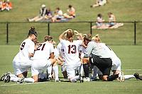 Virginia women's soccer beat Seton Hall 4-0 at Klockner Stadium. Photo/Andrew Shurtleff